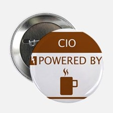 "CIO Powered by Coffee 2.25"" Button"