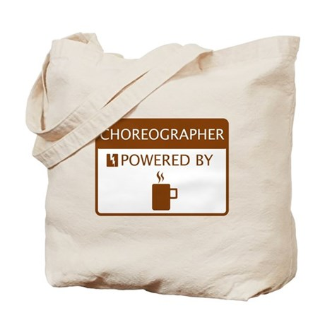 Choreographer Powered by Coffee Tote Bag