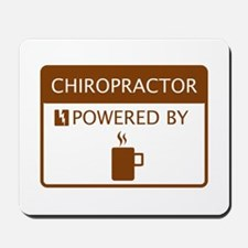 Chiropractor Powered by Coffee Mousepad