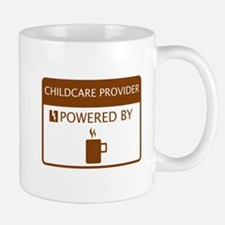 Childcare Provider Powered by Coffee Mug