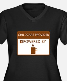 Childcare Provider Powered by Coffee Women's Plus