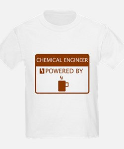 Chemical Engineer Powered by Coffee T-Shirt