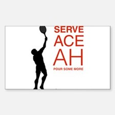 Serve Some Tennis. Serve Some Beer. Learn Spanish