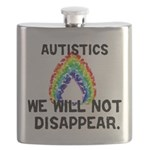 Autistics: Not Disappear Flask