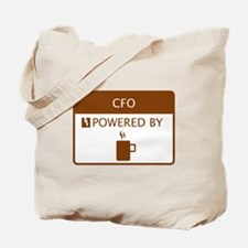 CFO Powered by Coffee Tote Bag