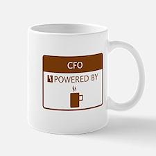 CFO Powered by Coffee Mug