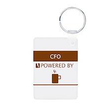CFO Powered by Coffee Keychains