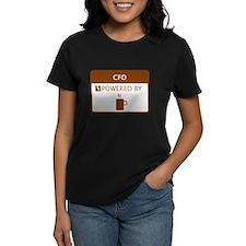 CFO Powered by Coffee Tee