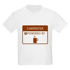 Carpenter Powered by Coffee T-Shirt