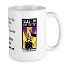 """Early to rise"" SIFS/Mousetrap Big Mug"