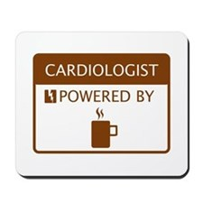 Cardiologist Powered by Coffee Mousepad