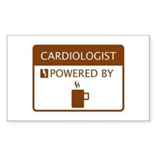 Cardiologist Powered by Coffee Decal
