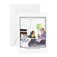 GOLF 004 Greeting Card