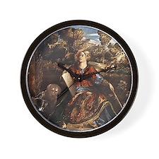 Melissa (Circe) Wall Clock
