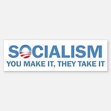 Socialism Car Car Sticker