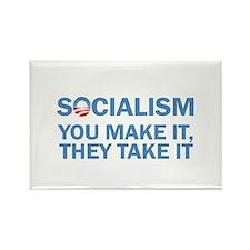 Socialism Rectangle Magnet