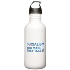 Socialism Sports Water Bottle