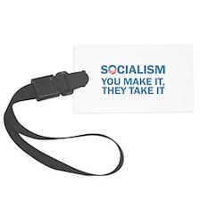 Socialism Luggage Tag