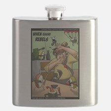 When Sushi Rebels Flask