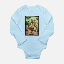 When Sushi Rebels Long Sleeve Infant Bodysuit