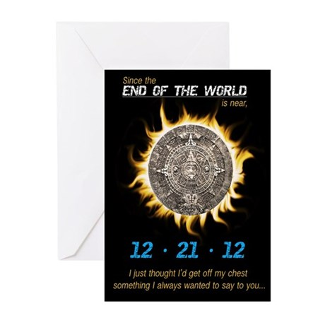 End of World Greeting Cards (Pk of 20)