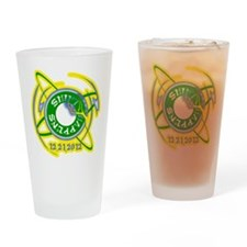 Shift Happens 12.21.2012 Drinking Glass