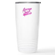 Ajs Pink Travel Mug