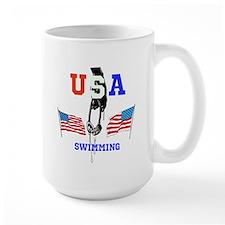 USA SWIMMING Mug