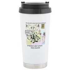 Dr Roarshach Interior Decorator Travel Mug