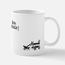 Bon voyage text Mug