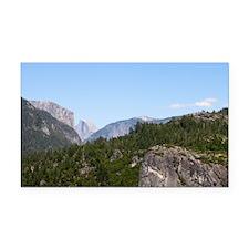 Yosemite Rectangle Car Magnet