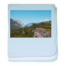 Yosemite baby blanket