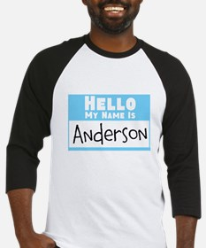 Personalized Name Tag Baseball Jersey