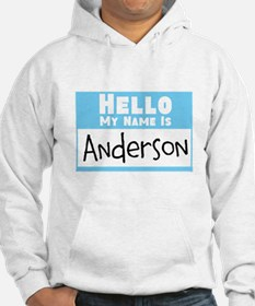 Personalized Name Tag Hoodie