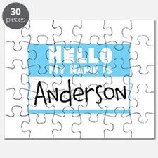 Personalized Name Tag Puzzle