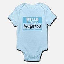 Personalized Name Tag Infant Bodysuit
