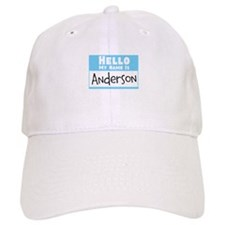 Personalized Name Tag Baseball Cap