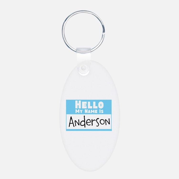 Personalized Name Tag Keychains