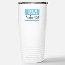 Personalized Name Tag Travel Mug