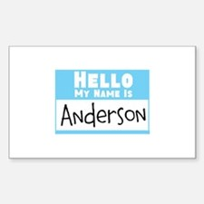 Personalized Name Tag Decal