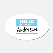 Personalized Name Tag Wall Decal