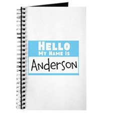 Personalized Name Tag Journal