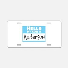 Personalized Name Tag Aluminum License Plate