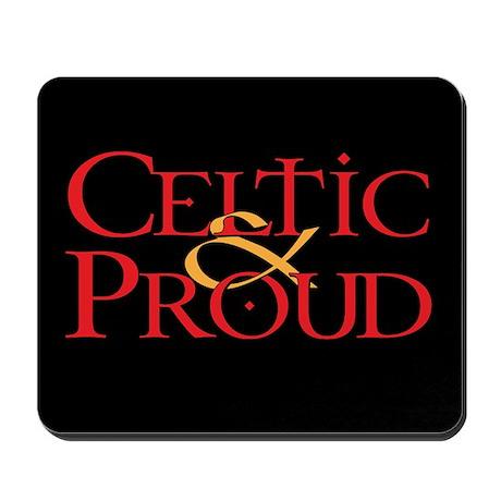 Celtic Proud Logo Mousepad