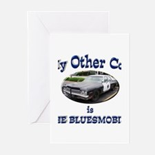 Bluesmobile Greeting Cards (Pk of 20)