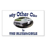 Bluesmobile Sticker (Rectangle 10 pk)