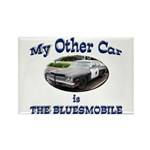 Bluesmobile Rectangle Magnet (100 pack)