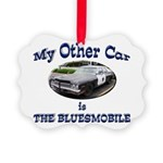 Bluesmobile Picture Ornament