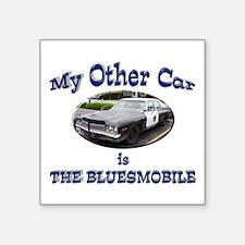 """Bluesmobile Square Sticker 3"""" x 3"""""""
