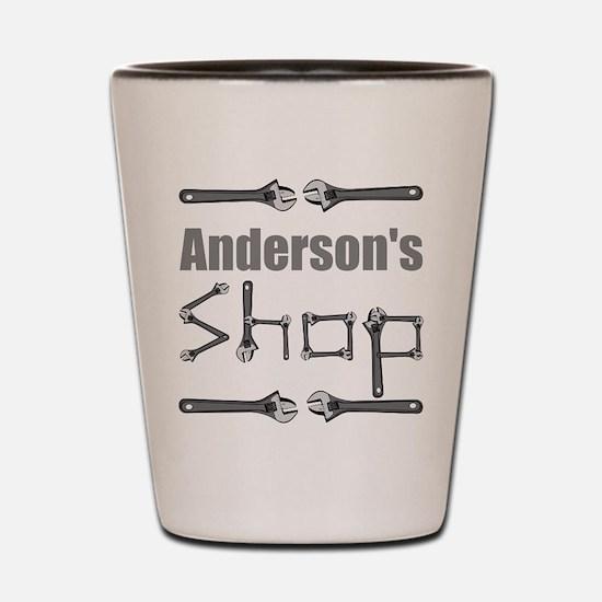 Personalized Shop Shot Glass